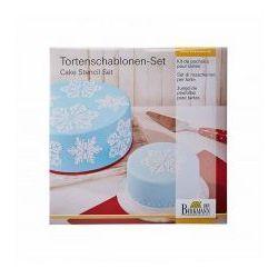 Szablony do dekoracji tortów ice crystal Birkmann 2 szt. ODBIERZ RABAT 5% NA PIERWSZE ZAKUPY, 450 257
