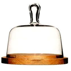 Deska do serów z pokrywą szklaną Sagaform Paus