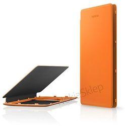 Etui Flip Cover do Ładowania bezp. Nokia CP-627 Pomarańczowe do Lumia 830 - Pomarańczowy