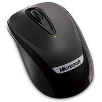 Microsoft Wireless Mobile Mouse 3000 v2 2EF-00003, bezprzewodowa mysz do notebooków [czarna]
