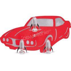AUTO III red - lampa dziecięca z kategorii Pozostałe oświetlenie
