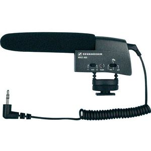 Sennheiser Mikrofon do kamery  mke 400, rodzaj transmisji danych: bezpośrednia, z kablem, z zabezpieczeniem, gorąca stopka (4044155017748)