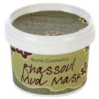 rhassoul mud mask - oczyszczająca maseczka do twarzy z glinką 110ml, marki Bomb cosmetics