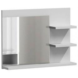 Lustro do łazienki Caro 2X - białe, LUMO L3 BIEL MAT