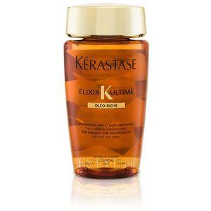 Kerastase elixir ultime oleo-riche bain | odżywcza kąpiel do włosów normalnych i grubych - 250ml (3474630677241)