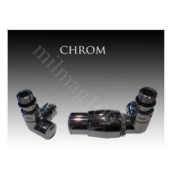 Zestaw zaworów grzejnikowych termostatycznych VISION prawy CHROM - sprawdź w wybranym sklepie