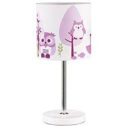 Kids concept  lampka stojąca sowa różowa, kategoria: oświetlenie dla dzieci