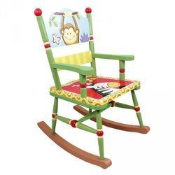 Fotel na biegunach Słoneczne safari z kategorii Pozostałe meble do pokoju dziecięcego
