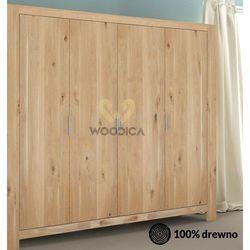 Szafa dębowa vernalis 05 4d marki Woodica