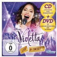 Universal music Violetta: live in concert, 1 audio-cd + dvd (deluxe edition). staffel.2/2