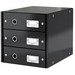 Kontener szufladowy Leitz Wow A4 6048-95 czarny