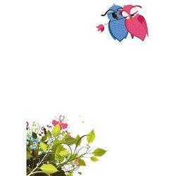 tablica magnetyczna suchoscieralna dla dzieci sowy, kwiatek 127