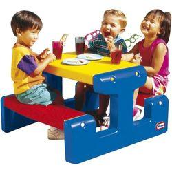 Little tikes Lt stolik piknikowy stół niebiesko czerwony (0050743047954)