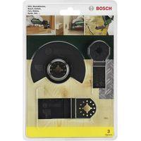 Bosch Zestaw akcesoriów do multinarzędzia, 3 szt.,  2607017323, pasuje do marki (multinarzędzia) fein, maki
