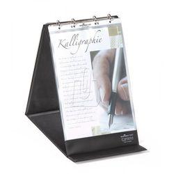 Durable Flipchart stołowy durastar z 10 koszulkami a4 pionowy czarny 8560-01