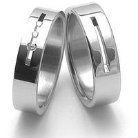 Obrączki ślubne z stali nierdzewnej ZERO Collection rz06010+rz86010 ()