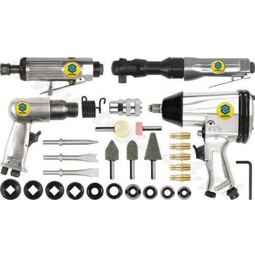 Zestaw narzędzi pneumatycznych 1/2cal z akcesoriami /VOREL/ - produkt z kategorii- Pozostałe narzędzia elektryczne