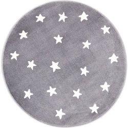Dywan Agnella Soft Gwiazdy Granite/Granit (koło) 80x80