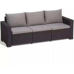 Allibert sofa ogrodowa california, 7 części, grafit, 231565 (8711245143590)