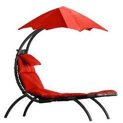 La siesta Leżak hamakowy, czerwony drmlg