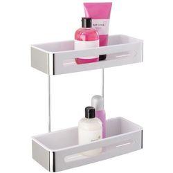 Wenko Prostokątna półka łazienkowa premium plus pod prysznic - 2 poziomy,