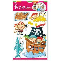 Naklejka na ścianę dla dzieci Małpki piratów