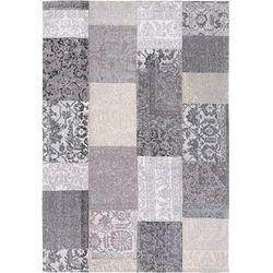 Nirmal Dywan patchwork grey/black 120x170