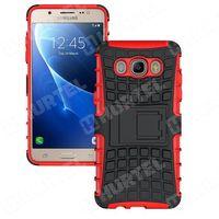 Pancerne etui Kickstand Samsung Galaxy J5 2016 J510 czerwone - Czerwony - produkt z kategorii- Futerały i pok