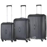 Zestaw walizek Travelite Uptown - czarny - produkt z kategorii- Torby i walizki