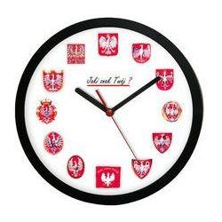 Zegar ścienny polskie orły marki Atrix