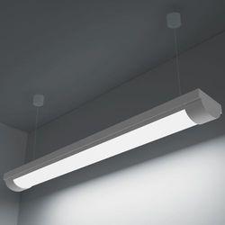 vidaXL Lampa sufitowa, świetlówka LED 14W zimny biały+zestaw do zawieszania (świetlówka)