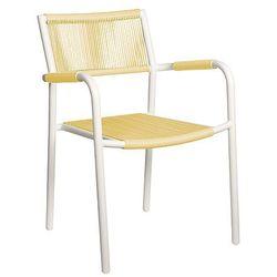 Miloo Krzesło ogrodowe wanilia shelly, kategoria: krzesła ogrodowe