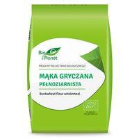 Mąka gryczana pełnoziarnista bio 1 kg -  marki Bio planet