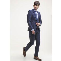 Selected Homme SHDONE TAX CASH Spodnie garniturowe navy blue, kolor niebieski