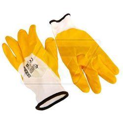 Rękawice robocze Geko żółte 9 G73552 - produkt z kategorii- Rękawice