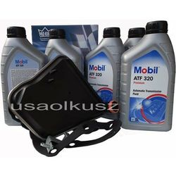 Filtr oraz olej skrzyni biegów  atf320 lincoln continental -1995 od producenta Mobil