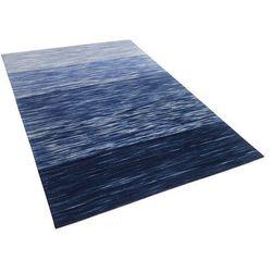 Dywan niebieski 140 x 200 cm krótkowłosy KAPAKLI (4260586355130)