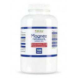 Magnez +witamina B6 MyVita 100 tabl. - sprawdź w wybranym sklepie