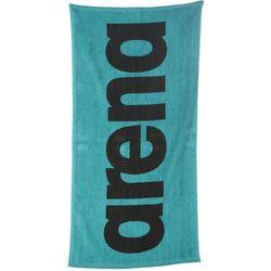 arena GYM Soft Towel, turkusowy/czarny 2021 Ręczniki i szlafroki sportowe (3468336333341)