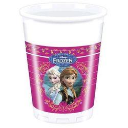 Kubeczki urodzinowe Frozen - Kraina Lodu - 200 ml - 8 szt.