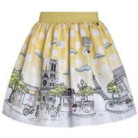 Love Made Love PARIS Spódnica trapezowa yellow, kolor żółty