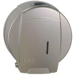 Pojemnik na papier toaletowy jumbo EKAplast srebrny