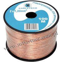 Przewód głośnikowy kabel cca 2x1 mm 100m marki Mpartner