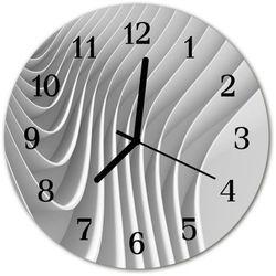 Zegar ścienny okrągły abstrakcja marki Tulup.pl