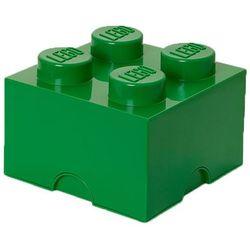 POJEMNIK LEGO 4 CIEMNOZIELONY - LEGO POJEMNIKI, 4003