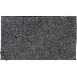 Dywanik łazienkowy gładki 60 x 100 cm antracytowy antypoślizgowy marki Cawo
