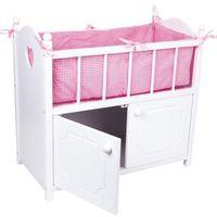 Łóżeczko-szafka dla lalki