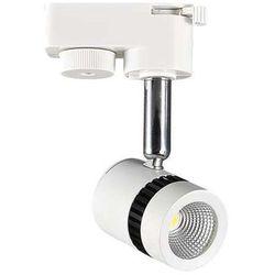 Ideus Lampa sufitowa hl835l 02735  ścienna oprawa kinkiet led 5w naświetlacz do systemu szynowego 1 - fazowego tuba biały