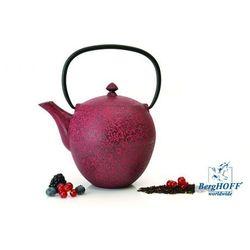 Zaparzacz Do Herbaty 1,1 L Żeliwny Bordowy