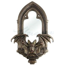 Veronese Steampunk - lustro z nietoperzem (wu76892a4)